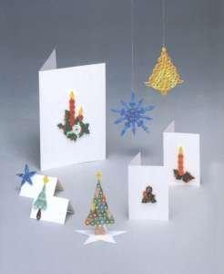 Past times quilling weihnachtskarten und dekorationen spielzeug - Weihnachtskarten amazon ...