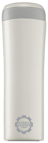 Sigg Thermosflasche Metro Mug Pearl, Weiß, 0.38 Liter, 8309.2