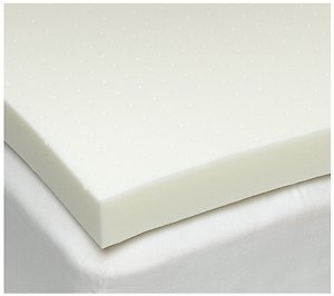 Queen Size 3 Inch Thick, 4 Pound Density Visco Elastic Memory Foam Mattress Pad Bed Topper. $114.99