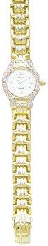 Geneve 14k Gold Diamond Women's Watch - MOP - OW270