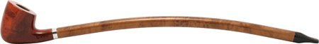 Long Churchwarden Tobacco Pipe #317