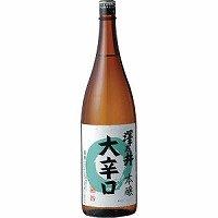 澤乃井 本醸造 大辛口 1.8L × 6本