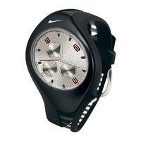 Nike Triax Swift 3i Analog Watch - Black/White - WR0091-071 by nike