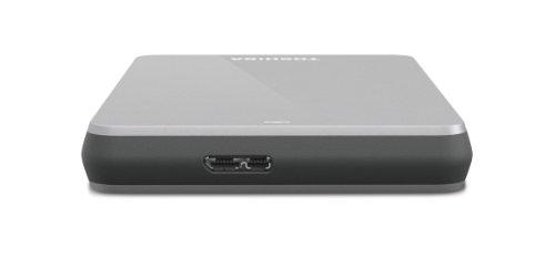 Toshiba Canvio 500 GB USB 3.0 Portable Hard Drive - HDTC605XS3A1 (Silver)