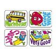 Trend, Stickers, School Fun, 4 Designs, Pack of 100