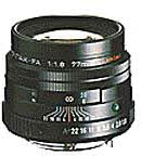 PENTAX 望遠 レンズ FA77mm F1.8 Limited ブラック FA77F1.8B