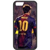 FC Barcelona Lionel Messi 2 Custom Phone Cases Design for iphone 6 Case with Black Laser Technology
