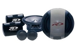 Alpine Type-R SPR-17S - Car speaker system - 110 Watt - 2-way - component - 6.5