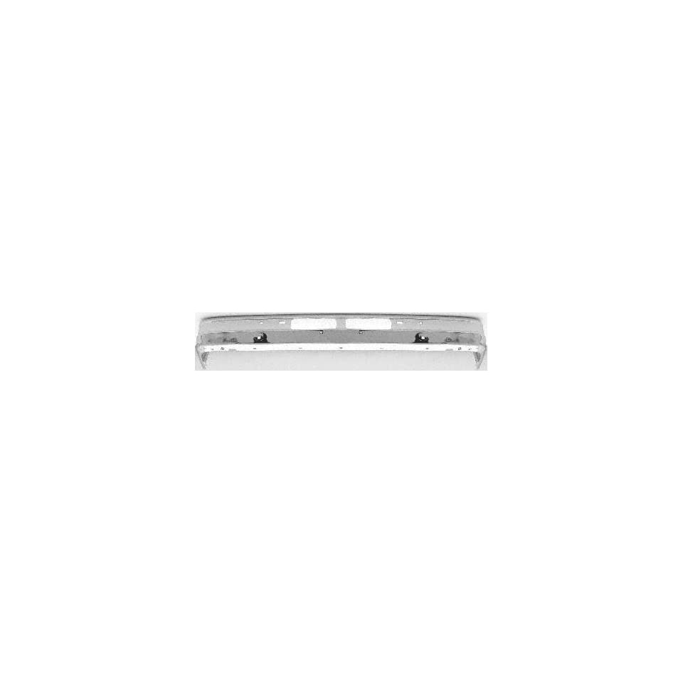 89 92 FORD RANGER FRONT BUMPER CHROME TRUCK, Without Molding Holes, To 2 90 (1989 89 1990 90 1991 91 1992 92) 7924 E9TZ17757G