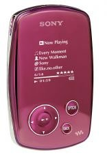 "Sony Walkman NW-A1000 - Digital player - HDD 6 GB - MP3 - display: 1.5"" - pink"