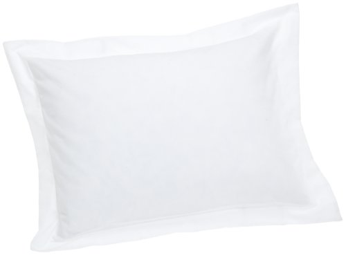 Fresh Ideas Tailored Poplin Pillow 2 Pack Sham Standard, White
