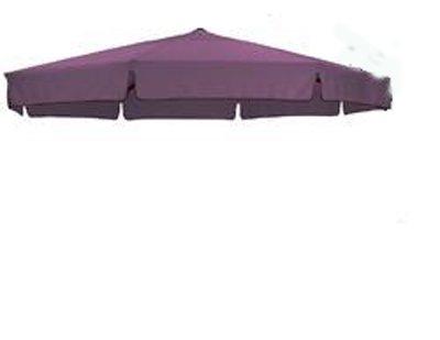 SUN GARDEN EASY SUN PARASOL Ersatzbezug ø 350cm Farbe : Brombeer