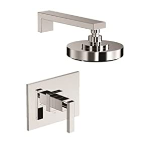 Newport Brass 3-2564BP/10 Skylar Single Handle Pressure Balanced Shower Only Trim Set, Satin Bronze
