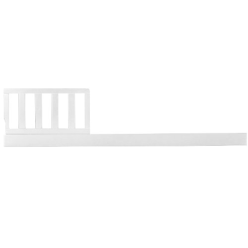 Sorelle Tuscany Mini Siderail Toddler Bed Conversion Kit, White