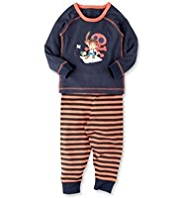 Jake and the Never Land Pirates Thermal Top & Trousers Set