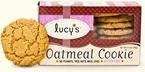Dr. Lucy's Grab 'n Go Oatmeal Cookies; Gluten Free 35 gm (Pack of 16)