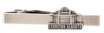 LDS Cardston Alberta Temple Silver Steel Tie Bar - Tie Clip - Priesthood Gift, LDS Missionary, Tie Clip