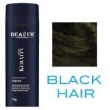 Beaver Professional Keratin Hair Building Fibers 12g (Available in 9 different colors) (Black)