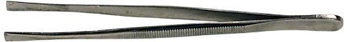 "Squadron Products 4 3/4"" Square Tip Tweezer"