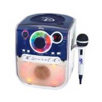 Disney D-Style Karaoke Machine - White/Blue (D900K)