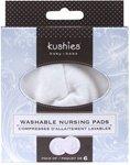 Kushies Washable Nursing Cotton Pads - 6 Pack