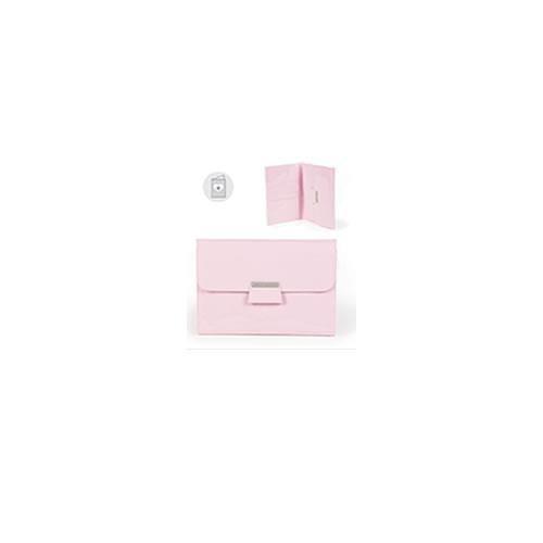 Pasito A Pasito  - Libro nacimiento rosa tweed baby (tw)