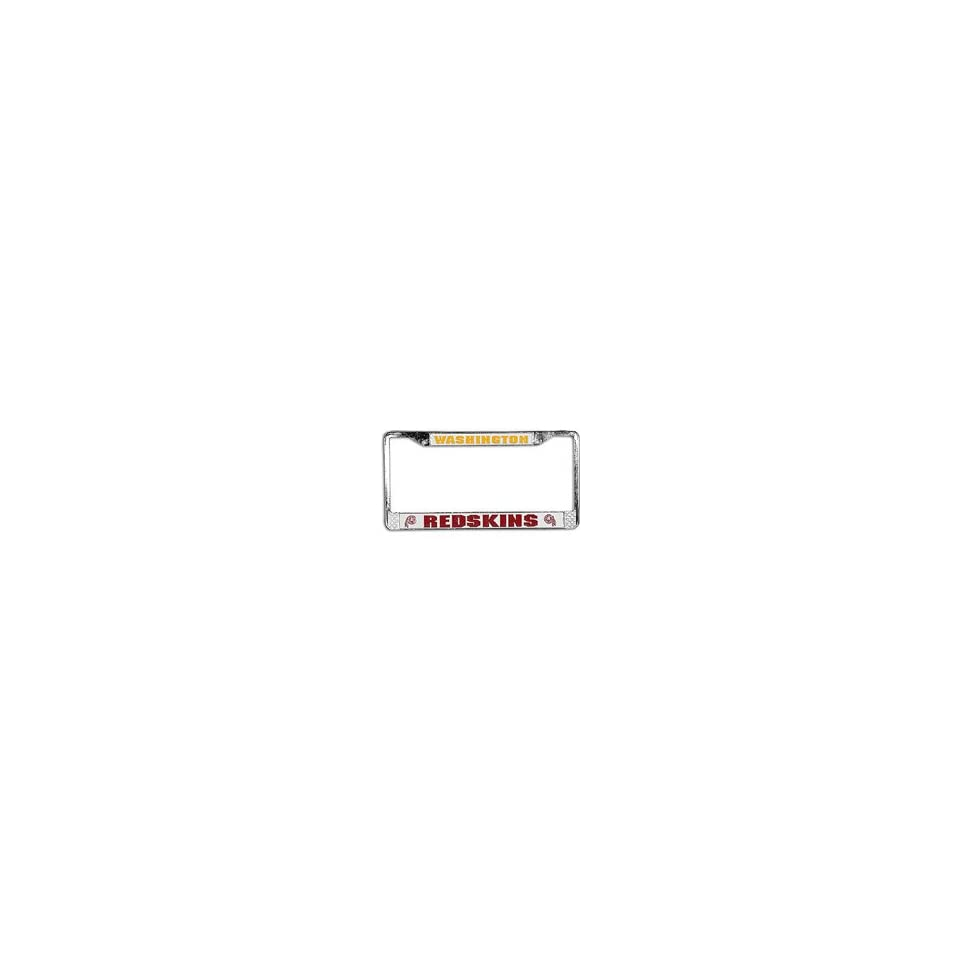 NFL Redskins Car License Plate Frame