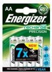 ENERGIZER Blister de 4 Accus Piles rechargeables HR6 Precision AA 2400mah