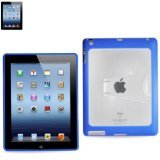 Reiko Protector Cover Pc+Tpu For Ipad 3 Kickstand Navy