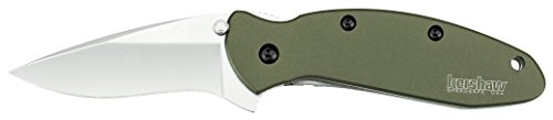 Kershaw 1620OL Scallion Folding Knife (Olive Drab) with SpeedSafe