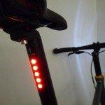 LightSKIN LED-Sattelst�tze 27,2mm sch...