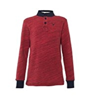 Cotton Rich Grandad Collar Top