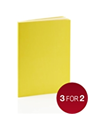 Premium A5 Yellow Lined Notebook