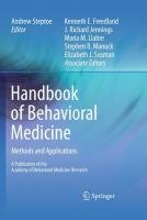 Handbook of Behavioral Medicine: Methods and Applications
