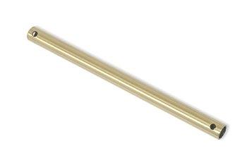 Westinghouse Downrod - Tubo copricavo/Sostegno per ventilatore da soffitto, 46 cm, colore: Ottone lucido