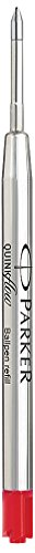 Parker Quinkflow Recharge pour Stylo-bille Pointe Moyenne Rouge