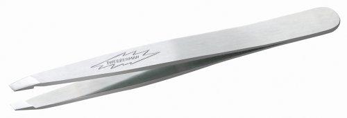 Tweezerman Stainless Steel Slant Tweezer front-453992