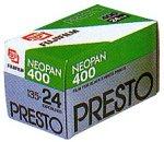 FUJIFILM 黒白ネガフイルム ネオパン 400 PRESTO 35mm 36枚 3本 135 PRESTO 36EX 3SB