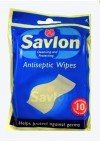 Savlon cleansing and protecting wipes. 10 individually sealed sachets