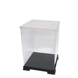 24cm height [transparent case series] figure case width 18cm x 18cm x depth