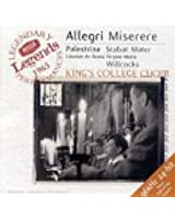 Allegri : Miserere - Palestrina : Stabat Mater