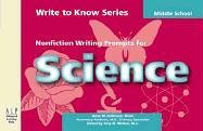 Write to Know: Nonfiction Writing Prompts for Middle School Science