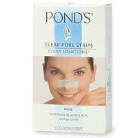 Pond's Clear Solutions Clear Pore Strips, Nose - 6 strips