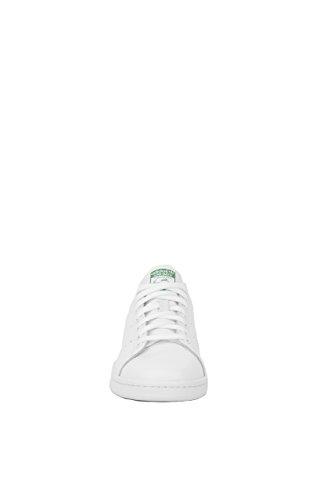 Adidas Performance Women's Stan Smith W Fashion Sneaker, White/White/Fairway, 8.5 M US