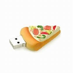 1GB Pizza USB Flash Drive
