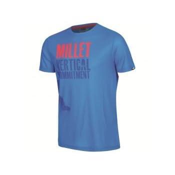 MILLET Altitude coolmax Tee shirt manche courte homme bleu