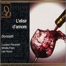 Donizetti: L\'Elisir D\'Amore / Pavarotti, Freni, Nucci