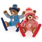 Pink Ski Bear - 1