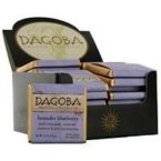 Ecofriendly Dagoba Organic Chocolate Tasting Square Organic Lavender Blueberry 59% (36x9 Gm) By Dagoba Organic Chocolate
