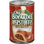 Chef Boyardee Big Beef Ravioli, Overstuffed, 15-Ounce Cans (Pack of 12)